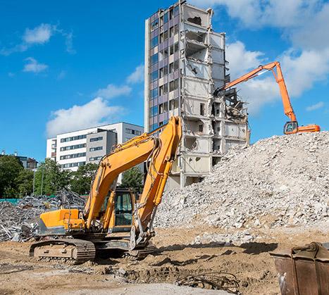 Entreprise de démolition, construction et rénovation de bâtiments à Toulouse